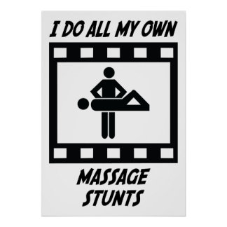 Massage Stunts Poster