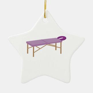Massage Table Ceramic Ornament