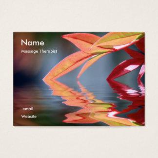 Massage Therapis... Business Card