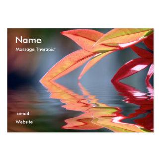Massage Therapis... Large Business Card
