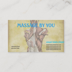 Medical massage business cards zazzle massage therapist business card template cheaphphosting Images