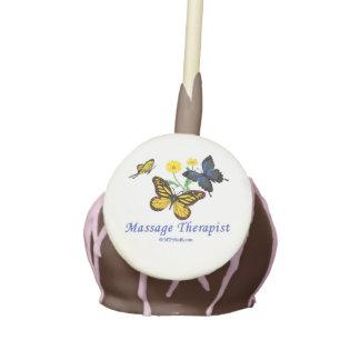Massage Therapist Butterflies Cookies Cake Pops