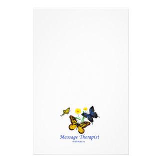 Massage Therapist Butterflies Flyer