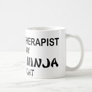 Massage Therapist Deadly Ninja by Night Coffee Mug