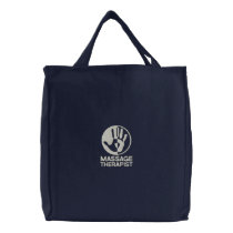 Massage Therapist Embroidered Bag