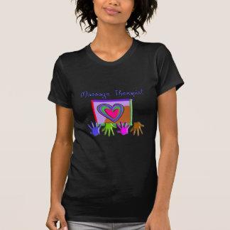 Massage Therapist Funky Artsy Design Gifts T-Shirt