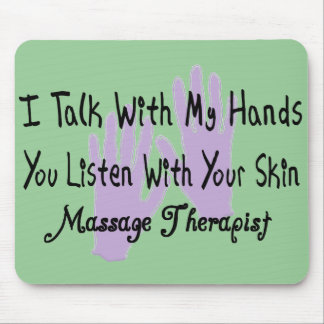 Massage therapist Gifts--Hands Design Mouse Pad