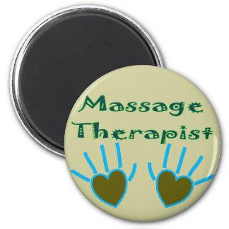 Massage Therapist Heart Hands Gifts Magnet