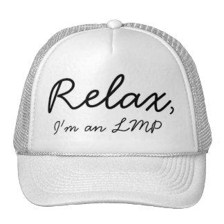 Massage therapist here! Relax! Trucker Hat