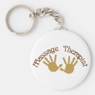 Massage Therapist Keychain
