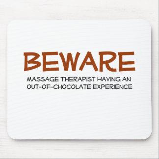 Massage Therapist Mouse Pad