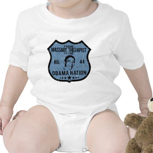 Massage Therapist Obama Nation Tee Shirts