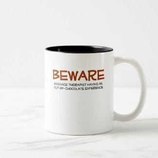 Massage Therapist Two-Tone Coffee Mug