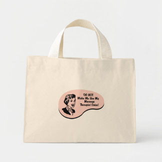 Massage Therapist Voice Mini Tote Bag