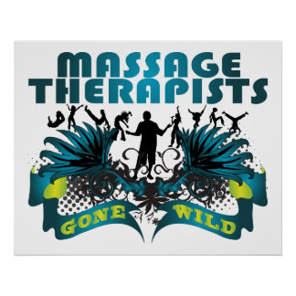 Massage Therapists Gone Wild Poster