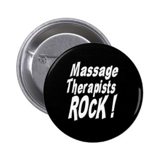 Massage Therapists Rock! Button