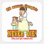 Massage Therapists Sticker