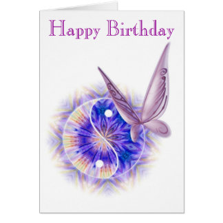 Massage Therapy Birthday Card