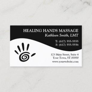 Massage therapy business cards zazzle massage therapy business cards colourmoves