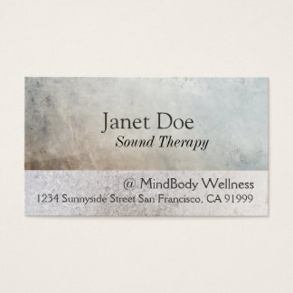 Massage Therapy Healing Arts Business Card