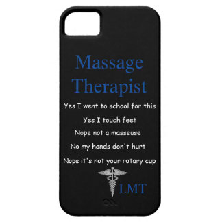 Massage Therapy IPhone Case iPhone 5 Cases