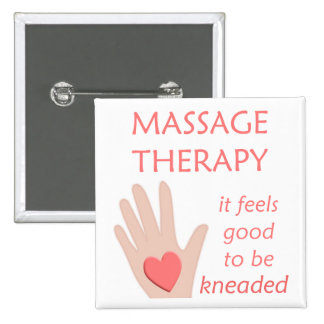 Massage Therapy Kneaded Button