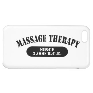 Massage Therapy Since 3,000 B.C.E. iPhone 5C Cases