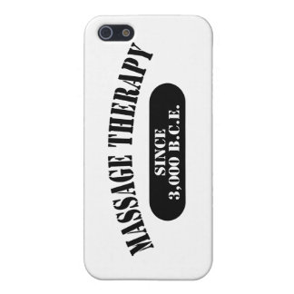 Massage Therapy Since 3,000 B.C.E. Cover For iPhone 5
