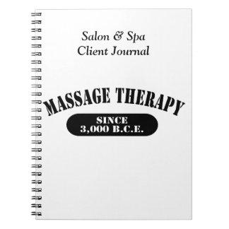 Massage Therapy Since 3,000 B.C.E. Notebook
