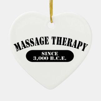 Massage Therapy Since 3,000 B.C.E. Christmas Ornaments
