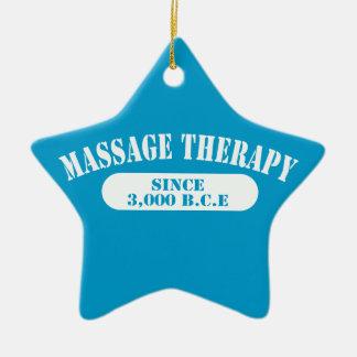 Massage Therapy Since 3,000 B.C.E. Christmas Tree Ornament