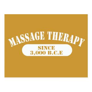 Massage Therapy Since 3,000 B.C.E. Postcard