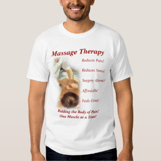 Massage Therapy Tshirts