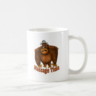 Massage Time Classic White Coffee Mug