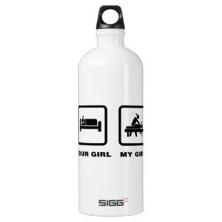 Massaging Aluminum Water Bottle