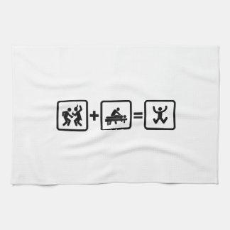 Massaging Hand Towel