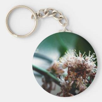 Massangeana Blooming Basic Round Button Keychain