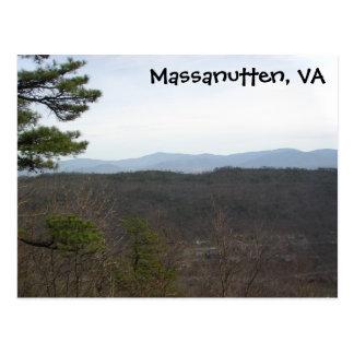 Massanutten VA, Postcard