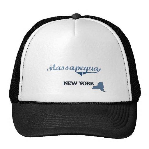 Massapequa New York City Classic Mesh Hats