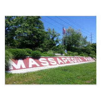 Massapequa Park Long Island Postcard
