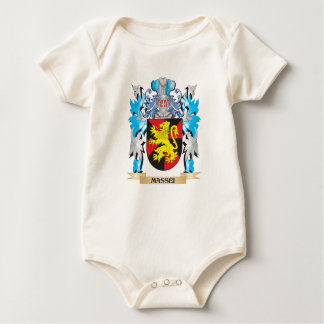 Massei Coat of Arms - Family Crest Baby Bodysuits