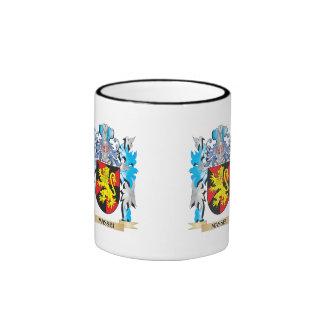 Massei Coat of Arms - Family Crest Ringer Coffee Mug