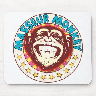 Masseur Monkey Mouse Pad