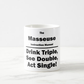 masseuse coffee mug