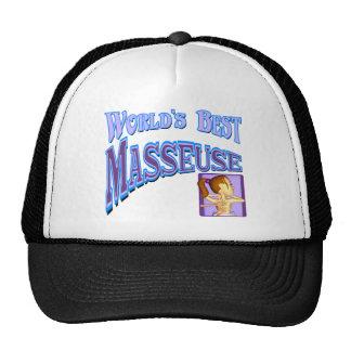 Masseuse Mesh Hats