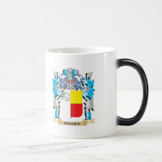 Massey Coat of Arms - Family Crest 11 Oz Magic Heat Color-Changing Coffee Mug
