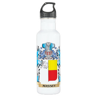 Massey Coat of Arms - Family Crest 24oz Water Bottle