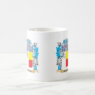 Massey Coat of Arms - Family Crest Classic White Coffee Mug