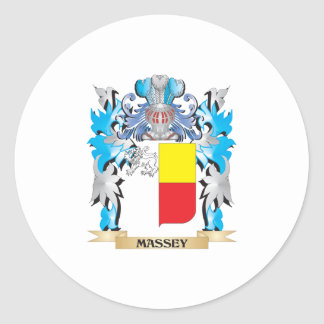 Massey Coat of Arms - Family Crest Sticker