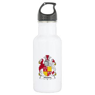 Massey Family Crest 18oz Water Bottle
